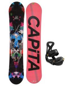 Capita Mindblower LTD Snowboard w/ Burton P1.1 Bindings