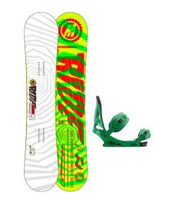 Ride Machete Snowboard w/ Burton Mission Bindings