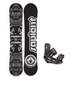 apient Outlaw Snowboard with Sapient Wisdom Snowboard Bindings