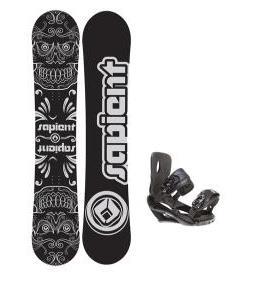 Sapient Outlaw Snowboard w/ Wisdom Bindings