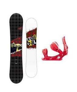 Rossignol Contrast Snowboard w/ Cage Bindings