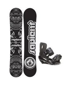 Sapient Outlaw Snowboard w/ Fusion Bindings