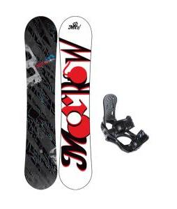 Morrow Fury Snowboard w/ 5150 Thermo Bindings