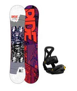 Ride DH2 Wide Snowboard w/ Burton Custom Bindings