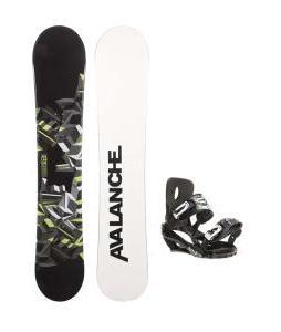 Avalanche Source Snowboard w/ Sapient Stash Bindings