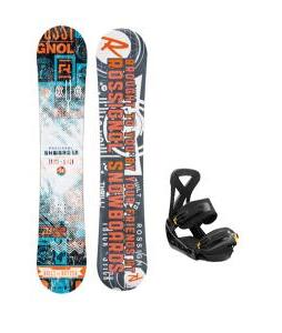 Rossignol Trickstick CYT Amptek Midwide Snowboard w/ Burton Custom Bindings