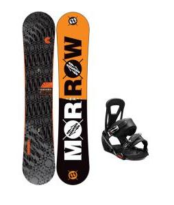 Morrow Clutch Snowboard w/ Burton Freestyle Bindings