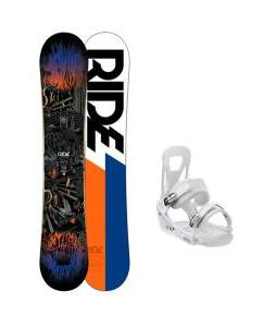 Ride Berzerker Snowboard w/ Burton Freestyle Bindings