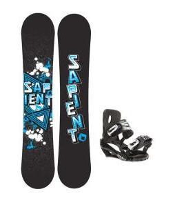 Sapient Trust Snowboard w/ Stash Bindings