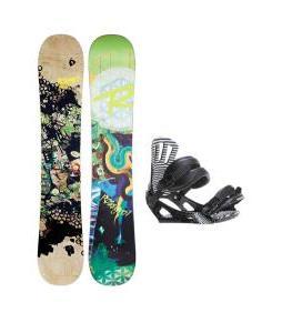 Rossignol Angus Amptek Snowboard w/ Cage Bindings