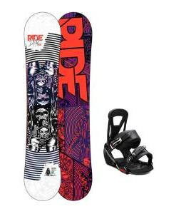 Ride DH2 Snowboard w/ Burton Freestyle Bindings