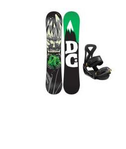 DC Focus Snowboard w/ Burton Custom Bindings