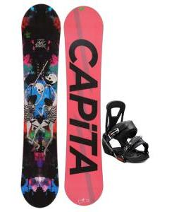 Capita Mindblower LTD Snowboard w/ Burton Freestyle Bindings