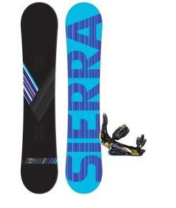 Sierra Reverse Crew Snowboard w/ Rome S90 Bindings