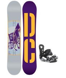 DC Tone Snowboard w/ Ride LX Bindings