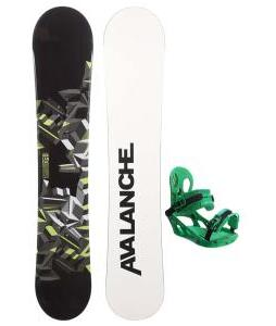 Avalanche Source Snowboard w/ K2 Indy Bindings