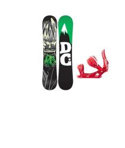 DC Focus Snowboard w/ Rossignol Cage Bindings