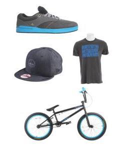 Blue Swag