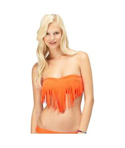 Roxy Surf Essentials Fringe Bandeau Bikini Tops