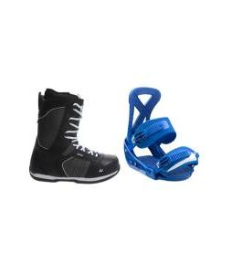 Ride Orion Boots with Burton Custom Bindings