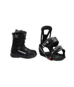 5150 Squadron Boots with Burton Freestyle Bindings