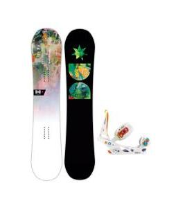 DC Biddy Snowboard with Burton Scribe Bindings