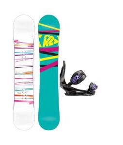 K2 First Lite Snowboard with Burton Citizen Re:Flex Bindings