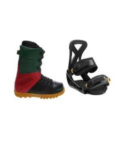 32 - Thirty Two Prion Boots with Burton Custom Bindings