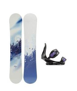 M3 Free Snowboard with Burton Citizen Re:Flex Bindings