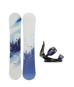M3 Free Snowboard with Burton Citizen Re:Flex Bindings