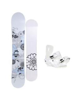 Santa Cruz Muse Snowboard with Sapient Zeta Bindings