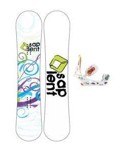 Sapient Spiral Snowboard with Burton Scribe Bindings