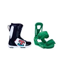 Ride Triad SPDL Boots with Burton Freestyle Bindings