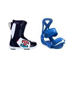 Ride Triad SPDL Boots with Burton Custom Bindings