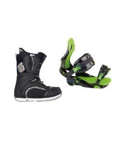 Burton Bootique Boots with Rossignol Justice Bindings