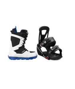 Burton Invader Boots with Burton Freestyle Bindings