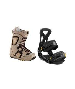 Burton Freestyle Boots with Burton Custom Bindings