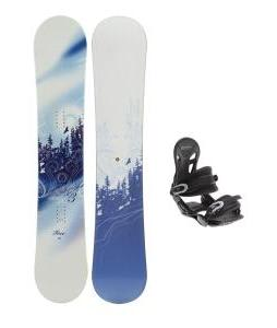 M3 Free Snowboard with Avalanche Summit Bindings