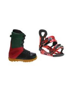 32 - Thirty Two Prion Boots with Ride LX Bindings