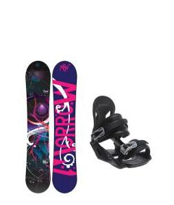 Morrow Seneca Snowboard with Avalanche Summit Bindings