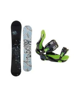 Rossignol Reserve Snowboard with Rossignol Justice Bindings