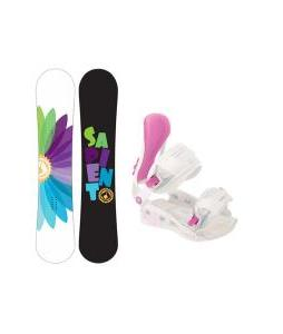 Sapient Color Wheel Snowboard with Avalanche Serenity Bindings