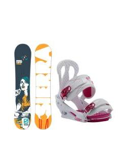 Sierra V Spot Snowboard with Burton Citizen Re:Flex Bindings