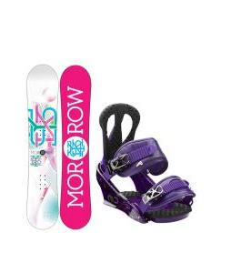 Morrow Sky Snowboard with Burton Citizen Re:Flex Bindings