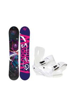 Morrow Seneca Snowboard with Sapient Zeta Bindings
