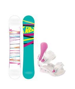 K2 First Lite Snowboard with Avalanche Serenity Bindings