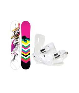 DC Ply Snowboard with Sapient Zeta Bindings