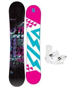 5150 Sienna Snowboard with Sapient Zeta Bindings