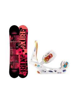 Ride Compact Snowboard with Burton Scribe Bindings