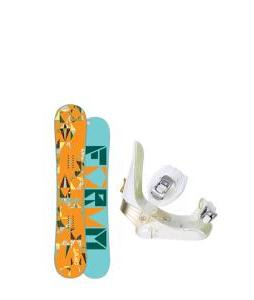Forum Craft Snowboard with Morrow Lotus Bindings